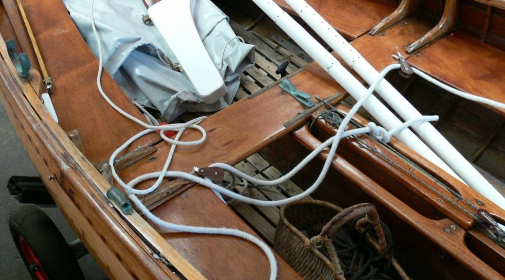 a vendre deriveur bois vernis a clins plan fife occasion deriveur services dinard P1340660