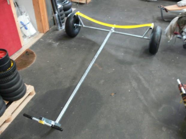 remorque mise a l eau grosse roue roue ballon neuve galva P1340785