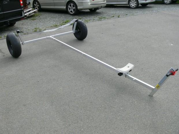 remorque mise a leau roue ballon grosse roue aluminium neuve P1340702