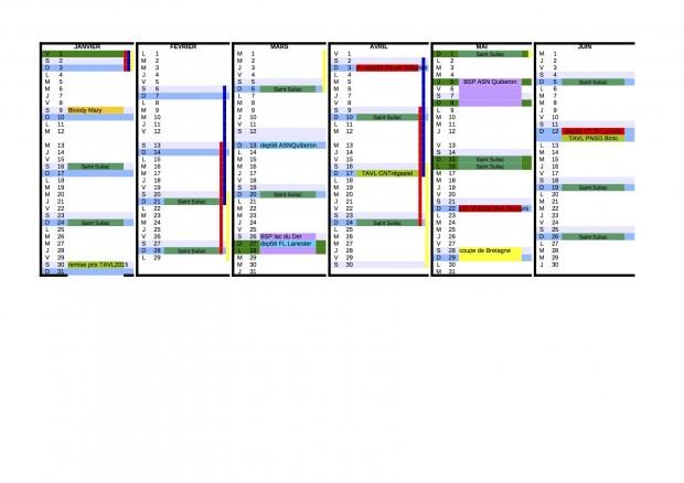 calendrier EIDs 2016