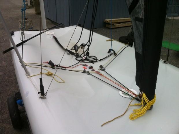 Solitaire performance à trapèze Laser Vortex