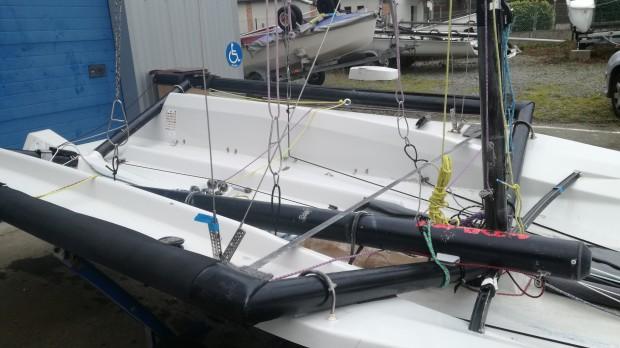 double trapèze skiff occasion dériveur services