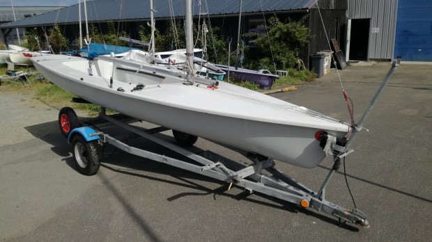 Laser II Regatta blanc double simple trapèze occasion dériveur services